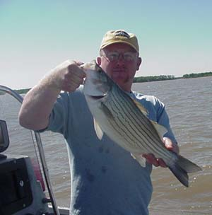 Kansas fishing report from anglers may 2002 for Cheney lake fishing report