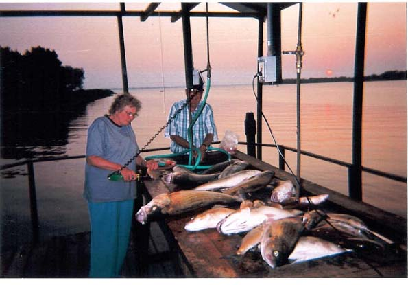 Kansas fishing report from anglers july 2002 august 2002 for Cheney lake fishing report
