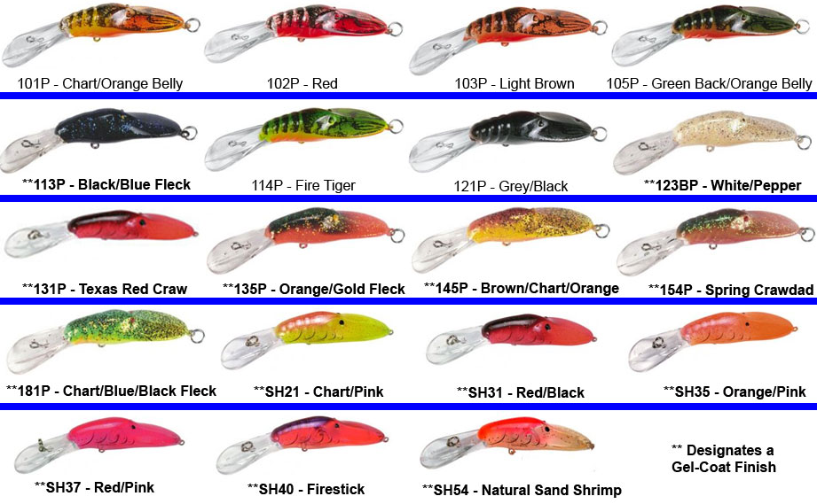 Bass Magnet Color Chart