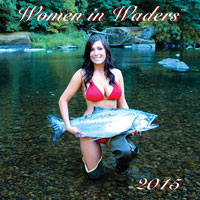 Women in Waders Calendar 2013