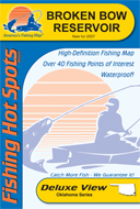Oklahoma topographic lake maps for Lake fork fishing hot spots